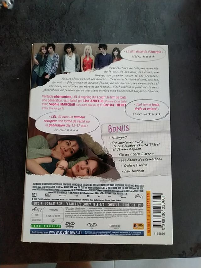 DVD lol