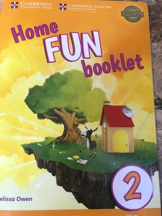 Libro inglés Home Fun Booklet 3 primaria