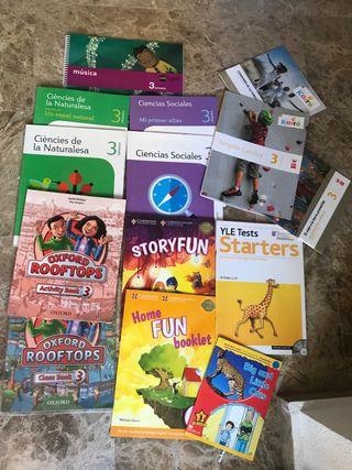 Libros texto 3 primaria