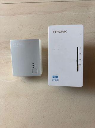 Kit PLC TP-Link con WI-FI.