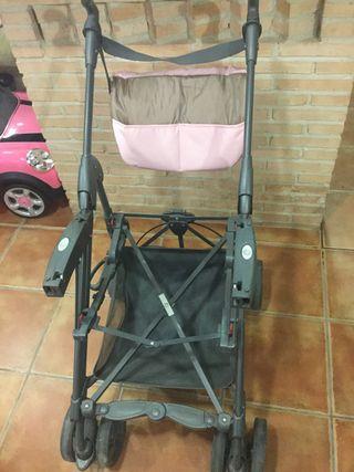 """Carrito de bebé de 3 piezas """"NeoNato"""""""