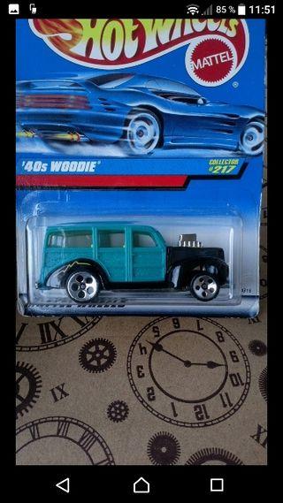 '40s Woodie. Hot wheels 1997