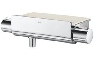 grifo termostatica ducha T2000 con repisa de Roca
