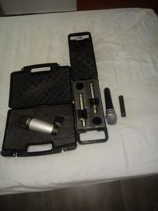 kit de grabacion de bateria economico