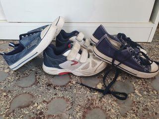 lote zapatillas 31
