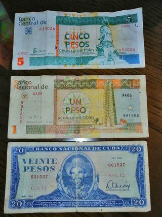 Billetes Cubanos