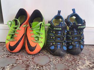 lote zapatillas talla 28