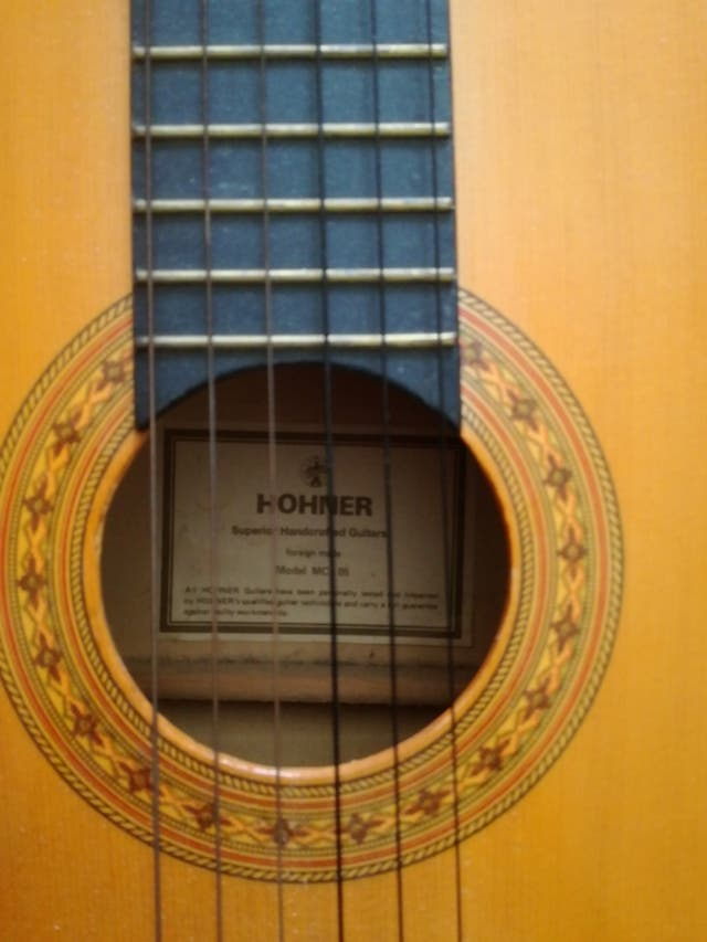 Hohner superior handcrafted guitar