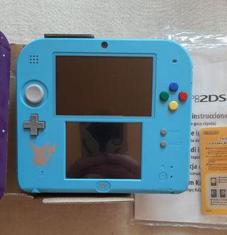 Nintendo 2DS Edicion Limitada Pokémon Sol y Luna