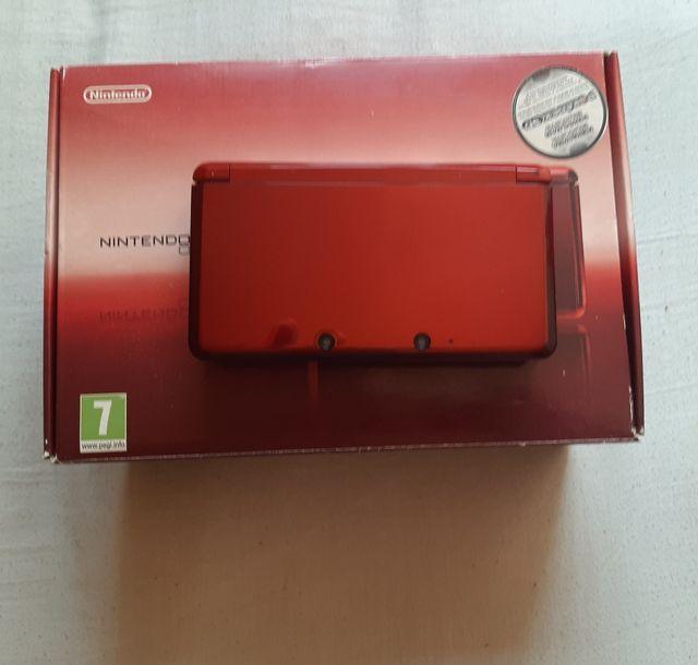 Nintendo 3DS Roja como NUEVA