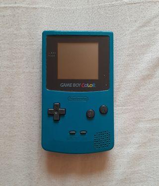 Game Boy Color Azul Turquesa