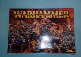 Warhammer Sexta Edición Caja Vacía.