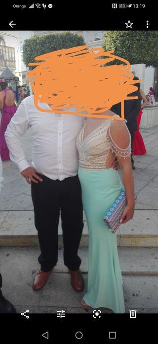 vestido largo de boda