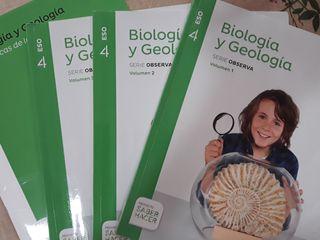 Libro Biologia y eologia 4 ESO (mochila ligera)