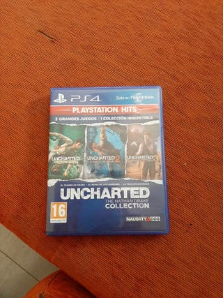 Uncharted 1,2,3 ps4