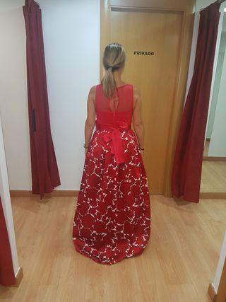 Vestido rojo de fiesta sin estrenar