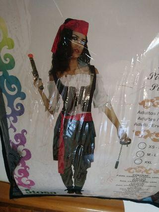 Disfraz de pirata de mujer