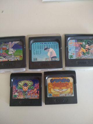 Oferta Lote juegos game gear!!!