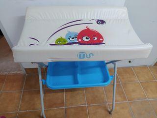 Cambiador/bañera para bebés