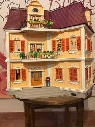 Gran casa de muñecas playmobil