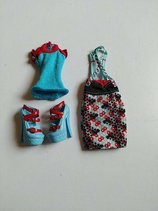 Monster High ropa accesorios