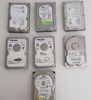 lote discos duros 3,5