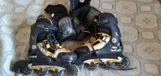 patines en linea talla 31 a 34