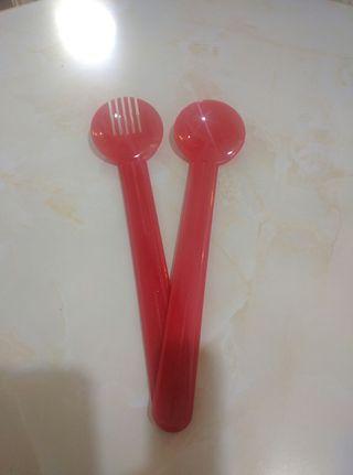 Lote 2 pares de Tenedor+ cuchara