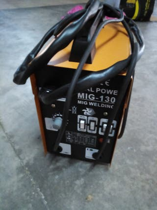Soldador MIG 130 sin gas Royal Power.