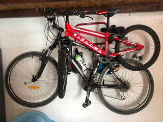 Dos bicicletas infantil y adulto