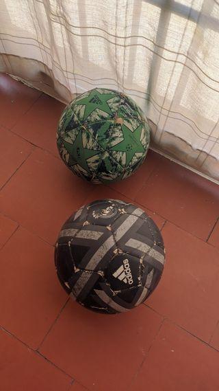pack balones Adidas real Madrid