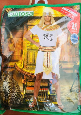 Disfraz faraón hombre