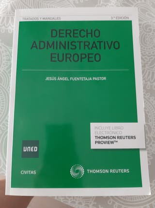 libro Derecho administrativo Europeo UNED