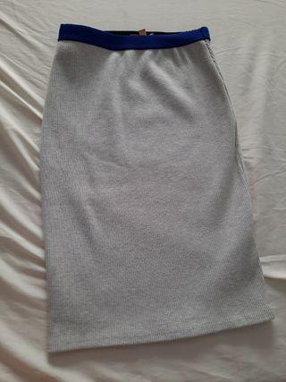 falda de tubo elastica talla S de ZARA