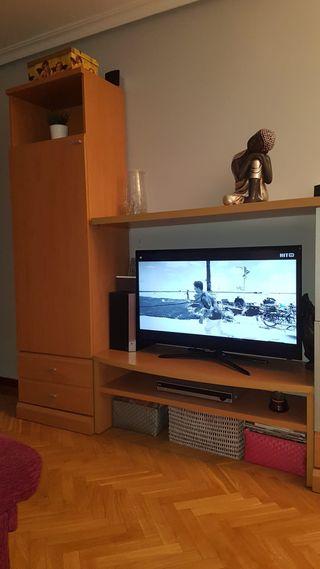 Armario y mesa TV
