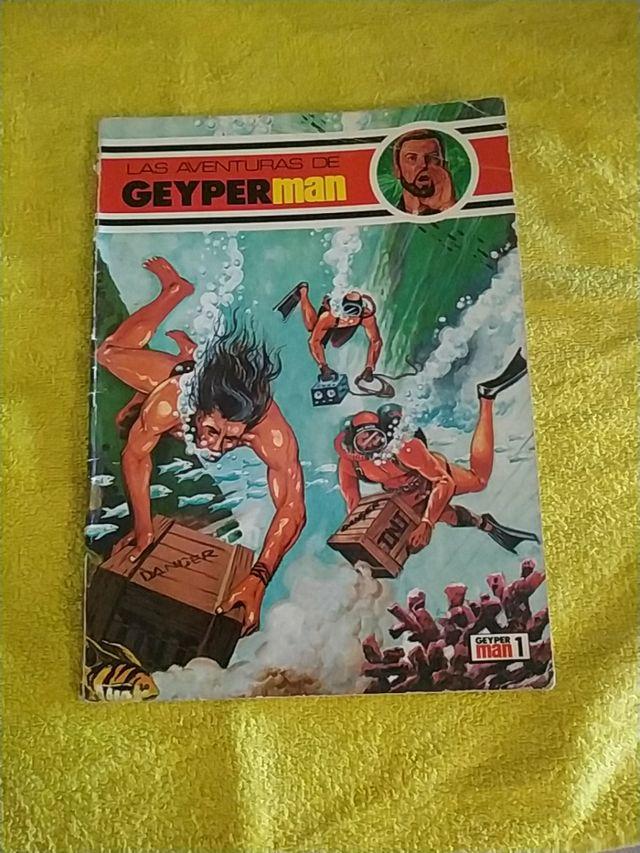 Comics Las Aventuras de Geyperman