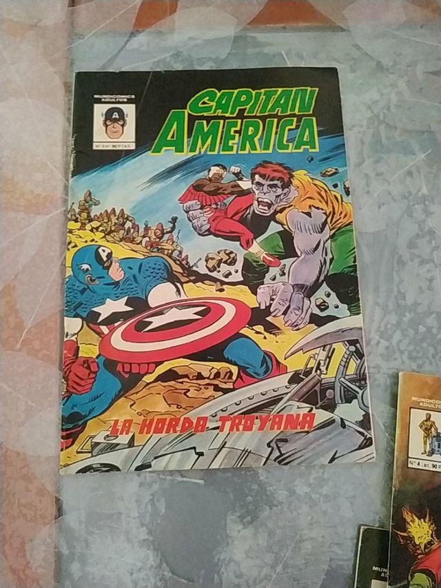 Comic antiguo Marvel