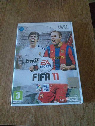 Juego Fifa11 Wii