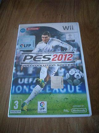 Juego Pes 2012 Wii