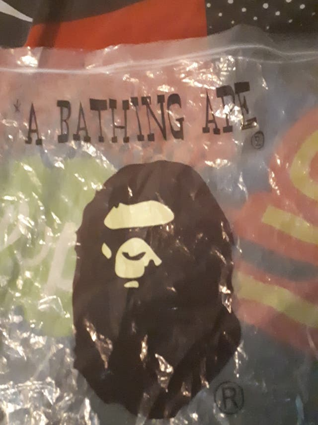 A bathing Ape bag