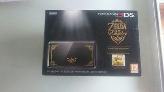 Nintendo 3ds zelda ed. 25 th + juego zelda