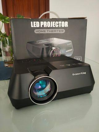Proyector HD LED TV Beamerking