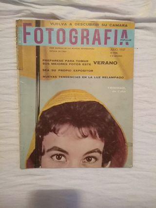 Fotografia popular revistas 1957