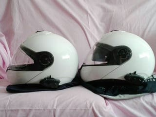 Cascos Schuberth C-3 con intercomunicadores