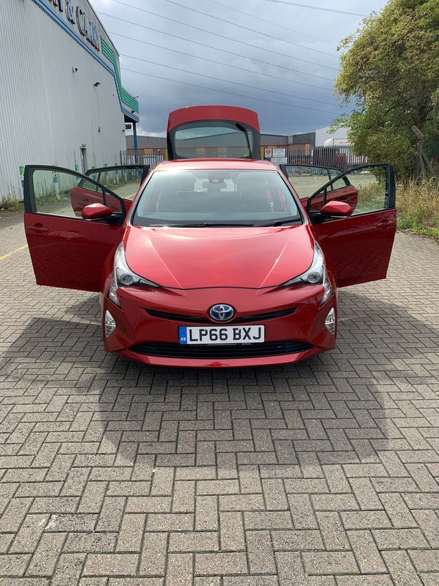 Toyota Prius - Red - No Previous Owners