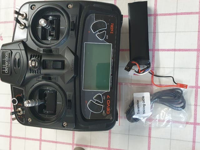 Walkera qrx350 pro + mando devo 7