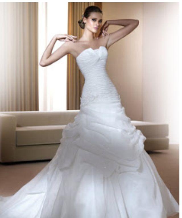 vestido de novia Pronovias modelo florida