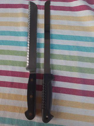 Cuchillos cocina sierra + REGALO (T7)