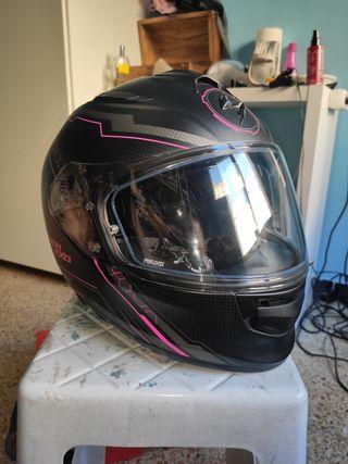 casco moto scorpion exo mujer