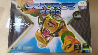 Tarjeta gráfica AGP 8x GeForce 6200 512MB
